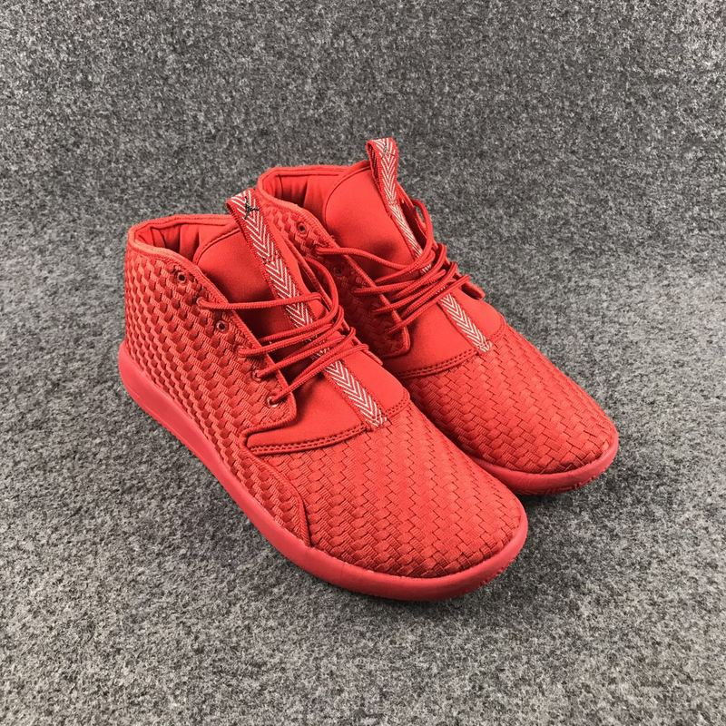 Women Jordan Eclipse 3 Knit All Red Shoes