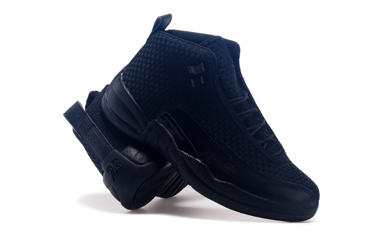 Newly Air Jordan 12 Future All Black Basketball Shoes