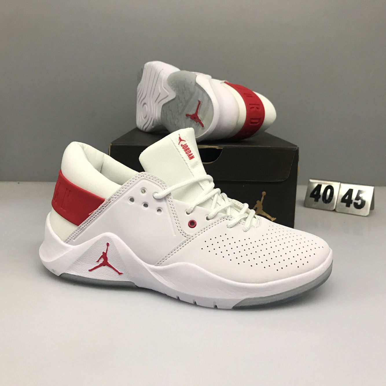 Nike Jordan Flight Fresh White Red Shoes