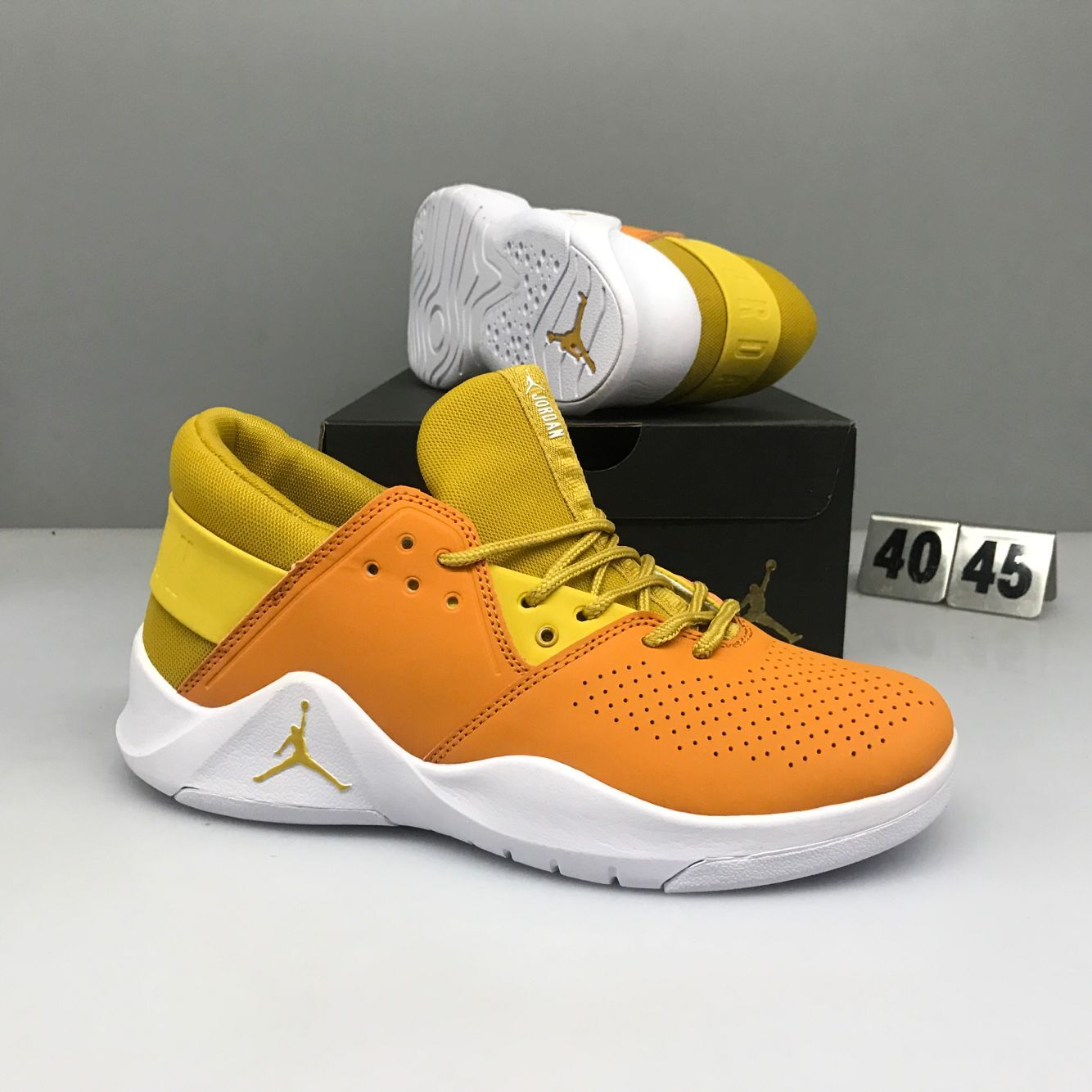 Nike Jordan Flight Fresh Yellow White Shoes