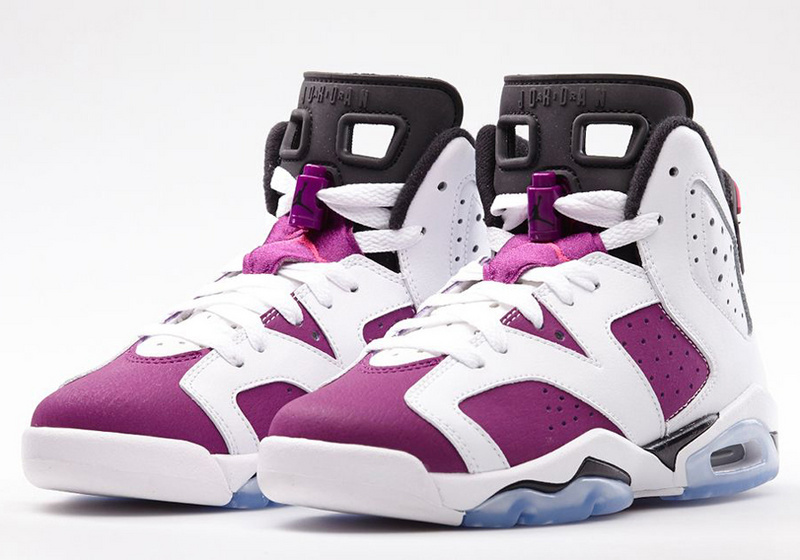 Official Jordan 6 White Pink For Women