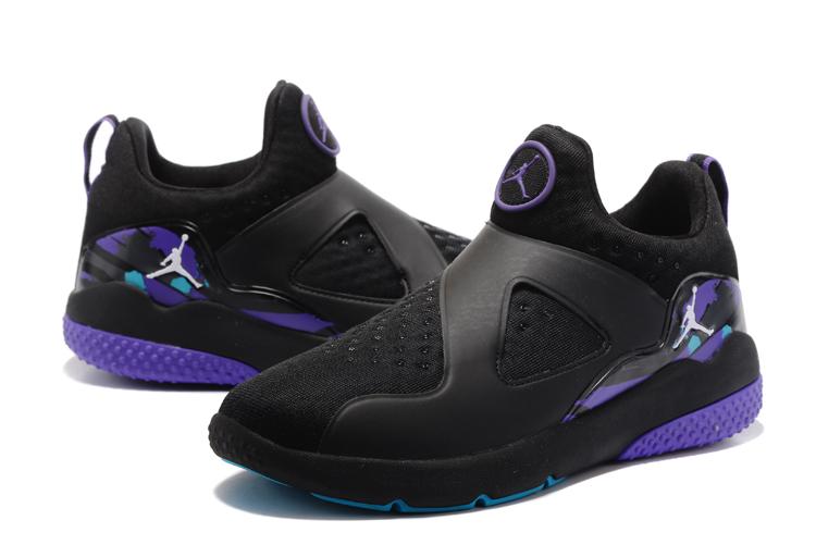 info for 56308 cf64e Original Air Jordan 8 Black Purple Shoes [NS4641] - $76.00 ...