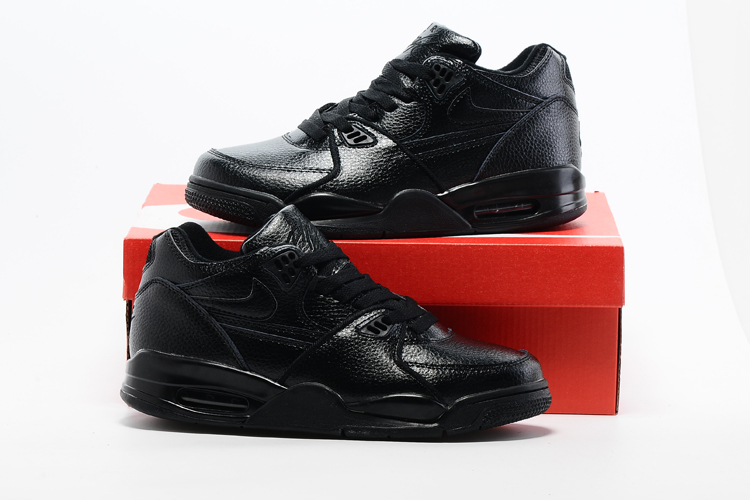 Original Air Jordan Flight 89 All Shiy Black Shoes