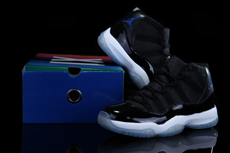 Real Rainbow Package Air Jordan 11 Concord Black White Shoes