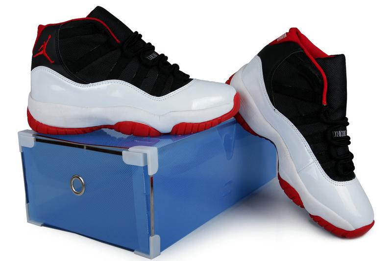 Summer Air Jordan 11 Black White Red Crystal Transparent Package ... de94f60361