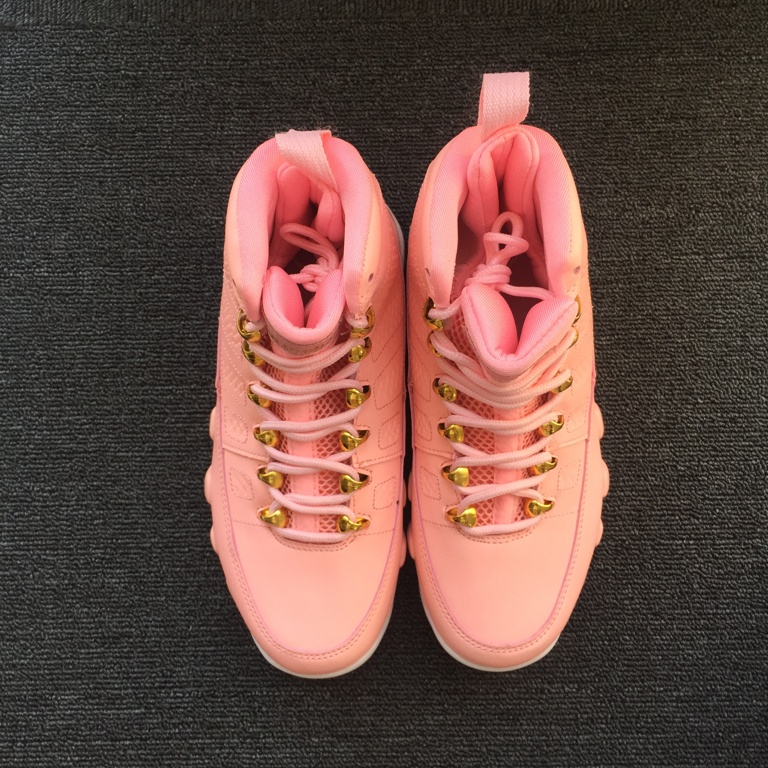 0016fb976ccf32 Women Air Jordan 9 Pink Red White Shoes  17og120701  -  75.00 ...
