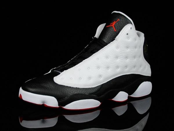 Jordan 13 Retro white black true red Wholesale Online 960425f6c9cf