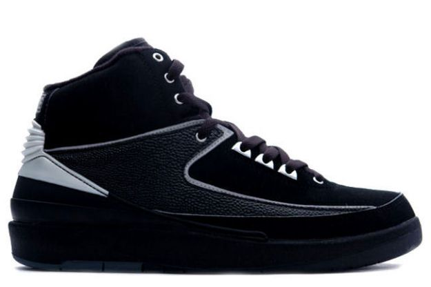 Air Jordan 2 Retro Black Chrome Shoes