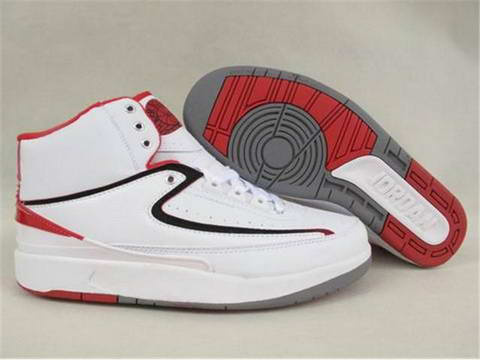 Jordan 2 Retro White Varsity Red Shoes