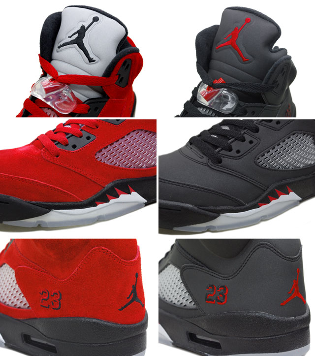 the best attitude 3bcea 40a2f ... discount air jordan 5 raging bull pack varsity red black package 0ac65  8d052