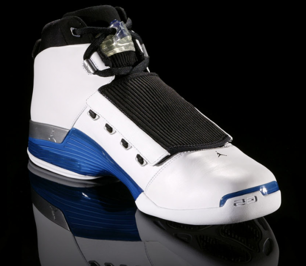jordan 17 original og white college blue black shoes